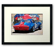 1965 Corvette Rear Framed Print