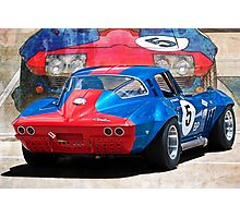 1965 Corvette Rear Photographic Print