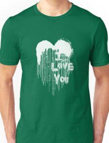 Painted Love - White & Black Unisex T-Shirt