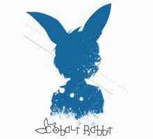 Cobalt Rabbit - Silo Tee by Nokturnal Design