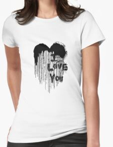 Painted Love - Black & White T-Shirt