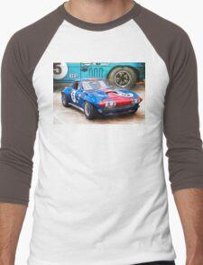 1965 Corvette Front Men's Baseball ¾ T-Shirt