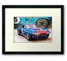 1965 Corvette Front Framed Print