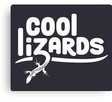 Cool Lizards Canvas Print