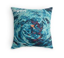 Retrograde Throw Pillow