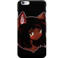 Neko Neko Kuro iPhone Case/Skin