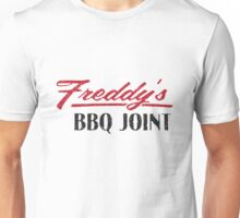 Freddy's BBQ JOINT Distressed Logo Unisex T-Shirt