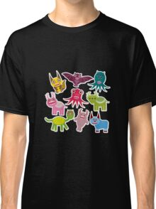 Cartoon monsters Classic T-Shirt