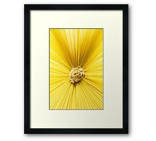 Vintage Abstract Texture Framed Print