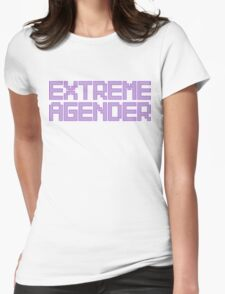 Extreme Agender - Pastel Womens Fitted T-Shirt