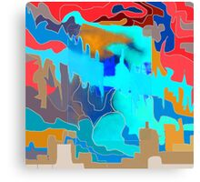 Overshadowing faith - REVERSI Canvas Print