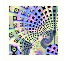 Spirals and Plaiting  Art Print