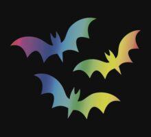 MLP - Cutie Mark Rainbow Special - Flutterbat (Fluttershy) Kids Tee