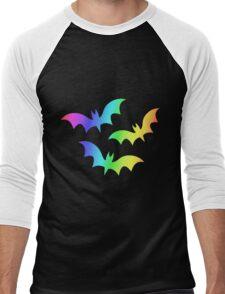 MLP - Cutie Mark Rainbow Special - Flutterbat (Fluttershy) Men's Baseball ¾ T-Shirt