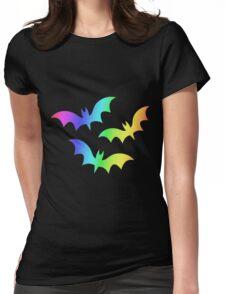 MLP - Cutie Mark Rainbow Special - Flutterbat (Fluttershy) Womens Fitted T-Shirt