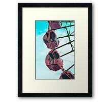 Ferris Wheel with Art Touch  Framed Print