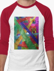 stars and stripes Men's Baseball ¾ T-Shirt