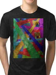 stars and stripes Tri-blend T-Shirt