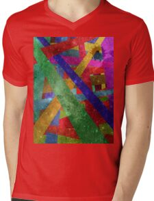 stars and stripes Mens V-Neck T-Shirt