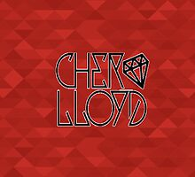 Cher Lloyd Logo - Red by bratboutique