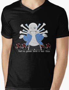 "Undertale - Sans ""You're Gonna Have A Bad Time"" Mens V-Neck T-Shirt"