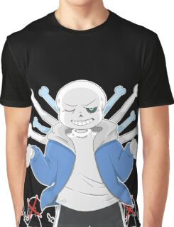 """Undertale - Sans """"You're Gonna Have A Bad Time"""" Graphic T-Shirt"""