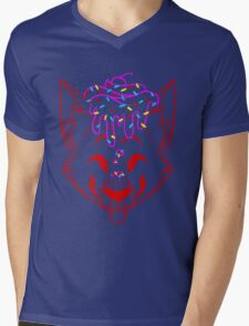 Cupcake Fox Lineart - Shirt Mens V-Neck T-Shirt