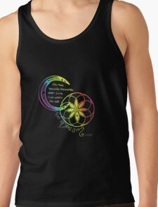 Rainbow Inspirational Dream Quote Tank Top