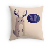 Fearsome Critter Throw Pillow
