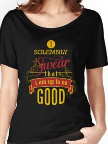 Harry Potter I Solemnly Swear That I Am Up To No Good  Women's Relaxed Fit T-Shirt