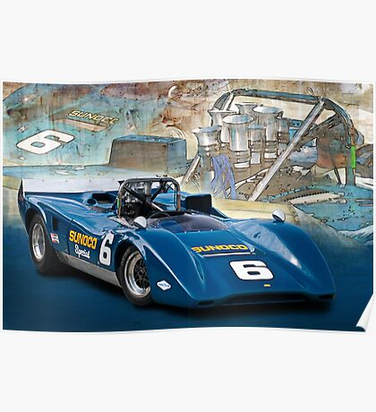 1969 Lola T163 Can-Am Poster