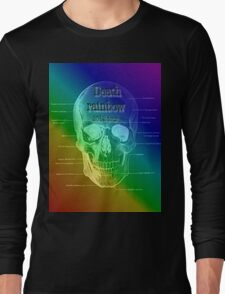 Death Rainbow Tour tee 2012 Long Sleeve T-Shirt