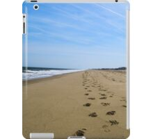 Beach Footprints & Sunshine iPad Case/Skin