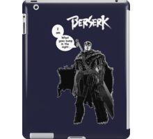 Berserk Manga - Bump in the Night w/ Logo iPad Case/Skin