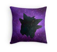 Galaxy Gengar Throw Pillow