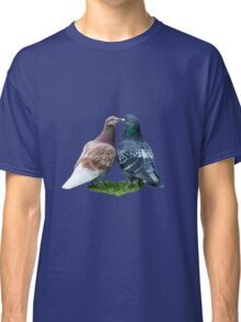 love story - or the tale of the kissing pigeons Classic T-Shirt