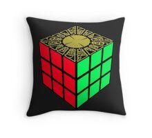 Rubik's Lament Throw Pillow