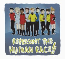 represent the human race by vulcan-ology
