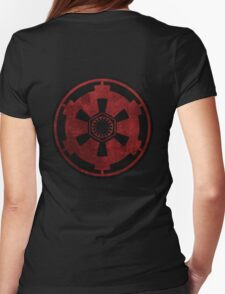 galactic empire and first order emblem Womens Fitted T-Shirt
