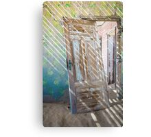 Striped Light Metal Print