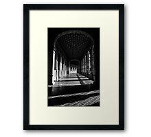 Seville - Plaza de Espana Framed Print