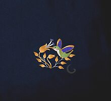 Hummingbird brooch  by thebigG2005