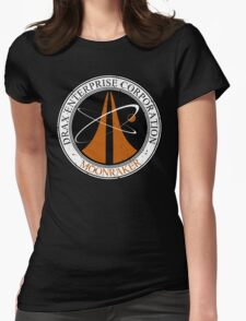 Moonraker Project Distressed Womens Fitted T-Shirt