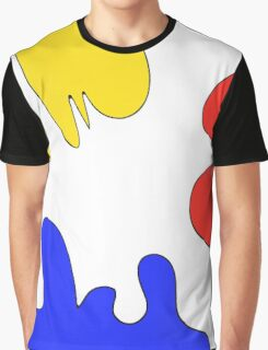 Paint Blobs Graphic T-Shirt