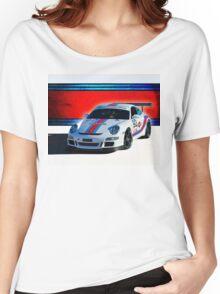 Porsche GT3 Martini Women's Relaxed Fit T-Shirt