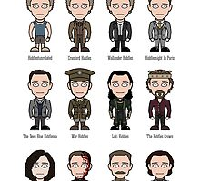 Hiddlespotting (print) by redscharlach