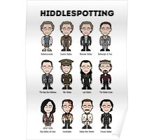 Hiddlespotting (print) Poster