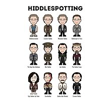Hiddlespotting (print) Photographic Print
