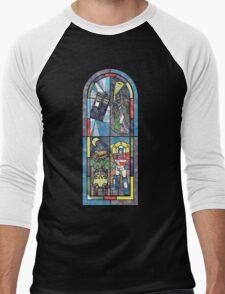 Church Of Geek Men's Baseball ¾ T-Shirt