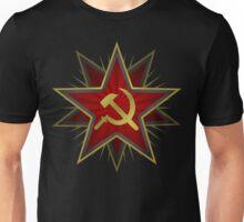 Soviet Hammer and Sickle 2 Unisex T-Shirt